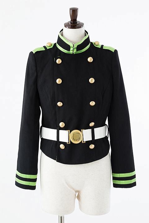 終わりのセラフ 月鬼ノ組制服(女子)ジャケットセット コスプレ衣装-higashi2019
