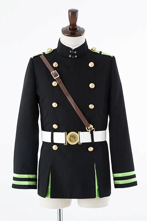 終わりのセラフ 月鬼ノ組制服(男子)ジャケットセット コスプレ衣装-higashi2021