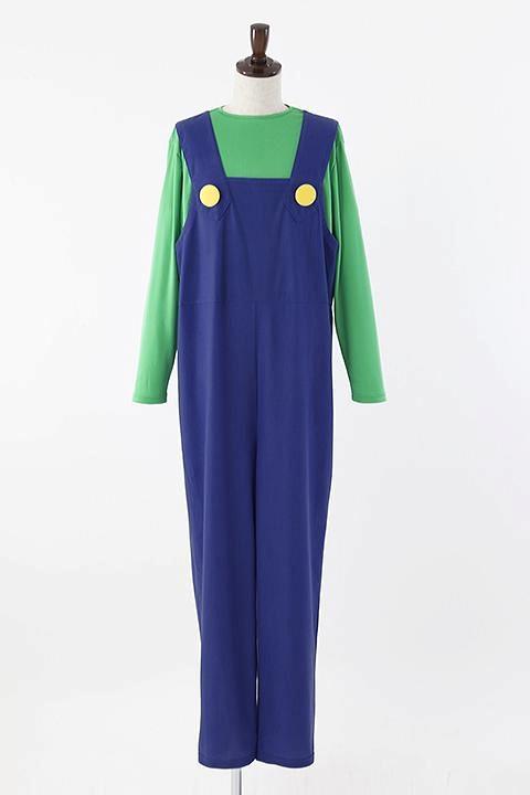 スーパーマリオ ルイージの衣装 コスプレ衣装-higashi2022