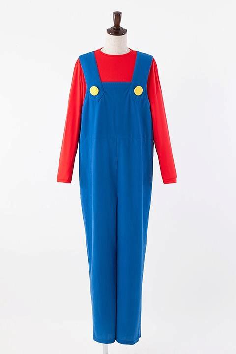 スーパーマリオ マリオの衣装 コスプレ衣装-higashi2023