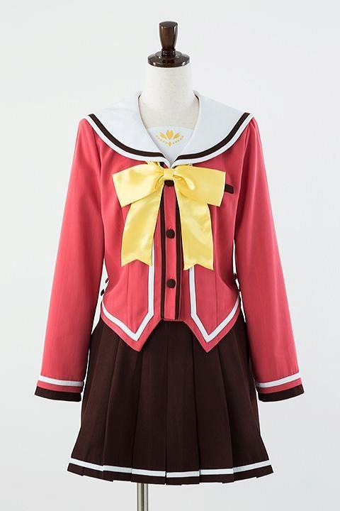 シャーロット Charlotte 星ノ海学園制服(女子冬服) コスプレ衣装-higashi2025