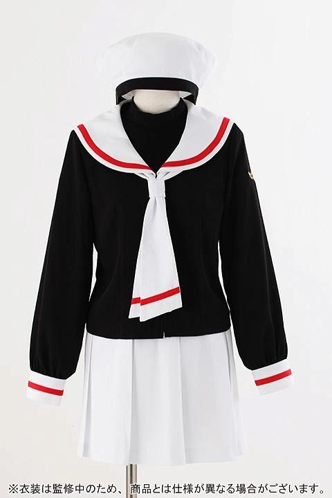 カードキャプターさくら 友枝小学校制服(女子冬服) コスプレ衣装-higashi2044