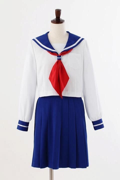 美少女戦士セーラームーン  区立芝公園中学校制服(女子) コスプレ衣装-higashi2048