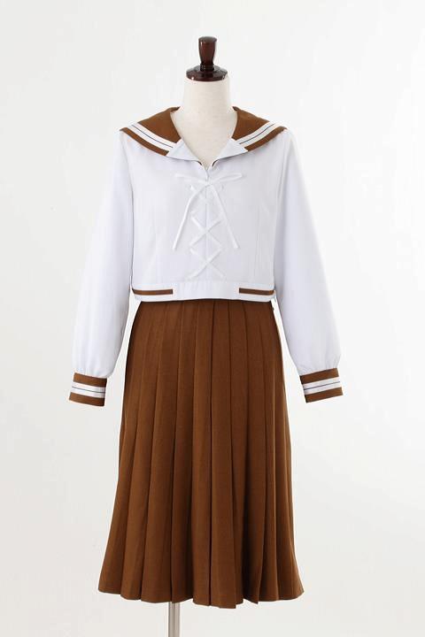 美少女戦士セーラームーン Crystal オフィシャルコスチューム 木野まこと前の学校の制服 コスプレ衣装-higashi2049