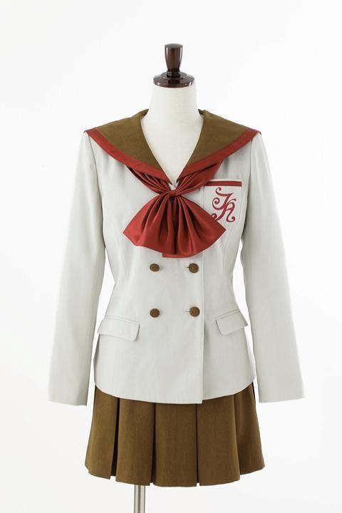 美少女戦士セーラームーン Crystal オフィシャルコスチューム 私立T・A女学院中等部制服 コスプレ衣装-higashi2050 1