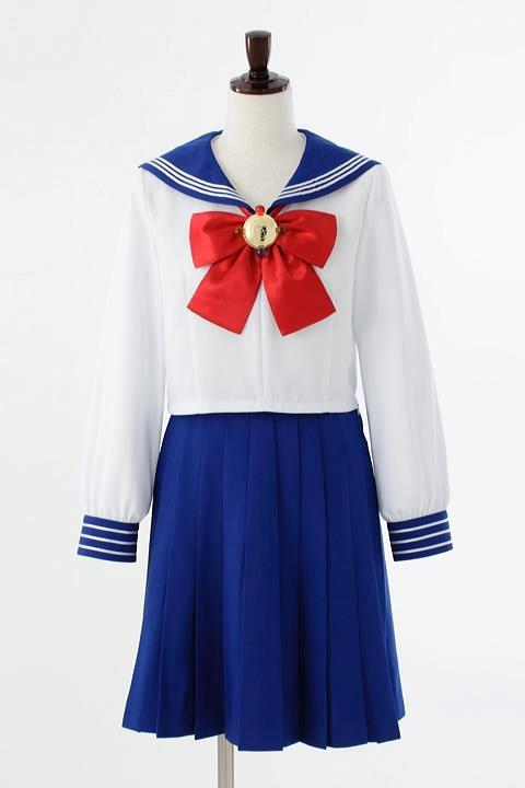 美少女戦士セーラームーン Crystal オフィシャルコスチューム 十番中学校制服 コスプレ衣装-higashi2051