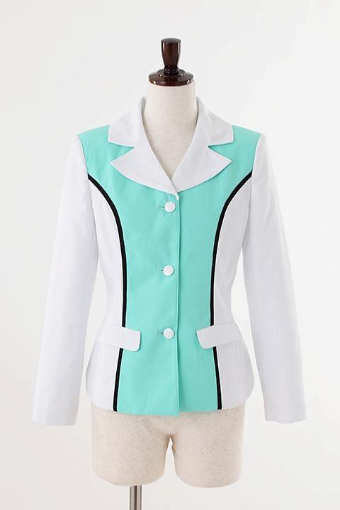 ユリ熊嵐 るるのジャケット コスプレ衣装-higashi2053