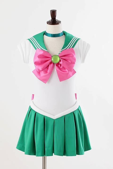 美少女戦士セーラームーンCrystal オフィシャルコスチューム セーラージュピター コスプレ衣装-higashi2056