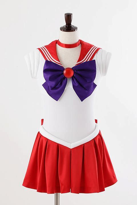 美少女戦士セーラームーンCrystal オフィシャルコスチューム セーラーマーズ コスプレ衣装-higashi2057
