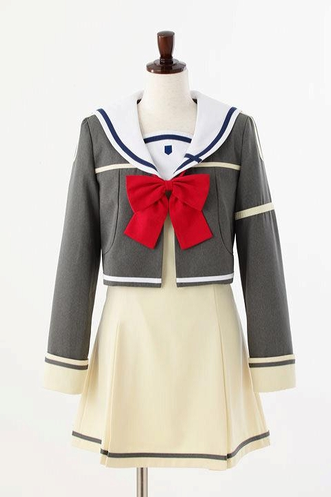結城友奈は勇者て?ある 讃州中学校制服(女子冬服) コスプレ衣装-higashi2060 1