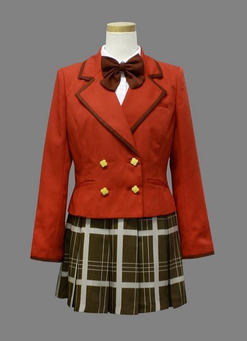 ファンタジスタドール 私立聖悠学館中等部制服 コスプレ衣装-higashi2063