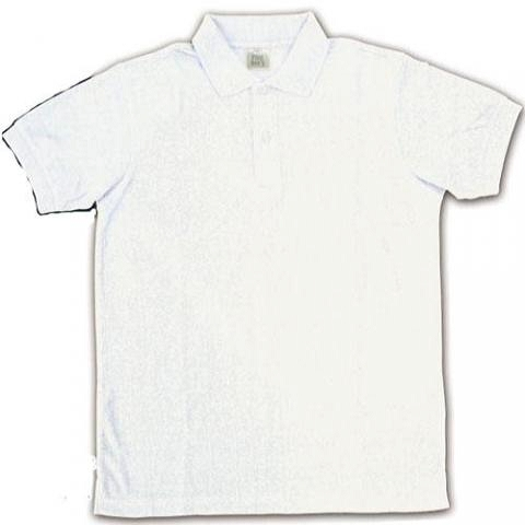 コアデオリジナル ポロシャツ半袖 ホワイト コスプレ衣装-higashi2112