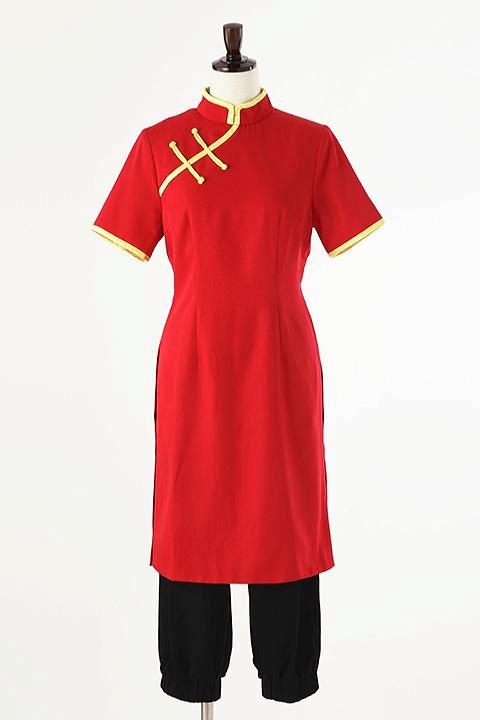 銀魂 神楽の衣装/半袖チャイナ服 コスプレ衣装-higashi2121