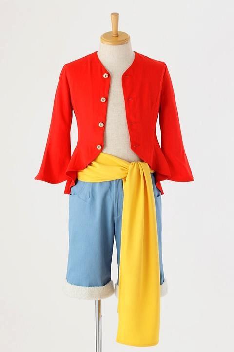 ワンピース モンキー・D・ルフィの衣装 コスプレ衣装-higashi2138