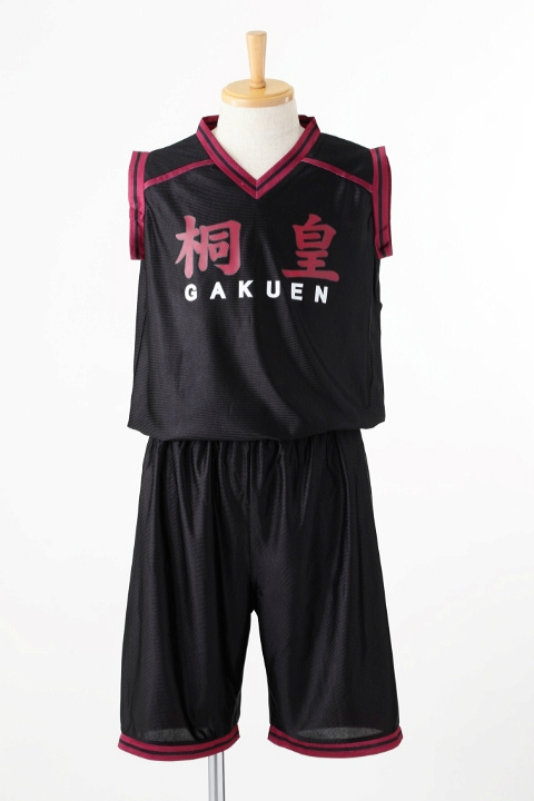 黒子のバスケ 桐皇学園高校ユニフォーム/背番号なし コスプレ衣装-higashi2145 1