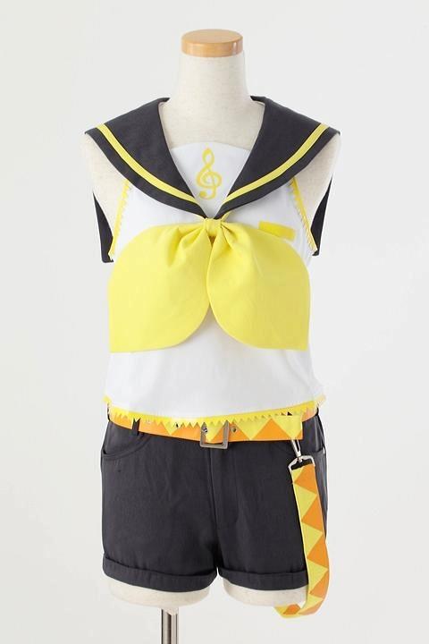 鏡音リン 鏡音リンの衣装 コスプレ衣装-higashi2157