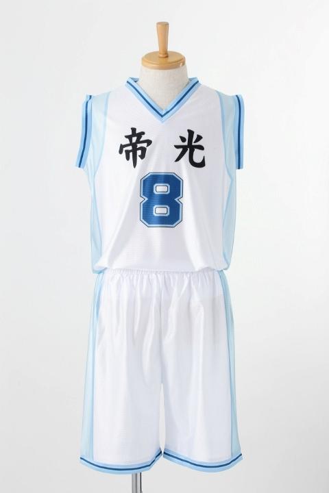黒子のバスケ 帝光中学校 ユニフォーム 黄瀬涼太 コスプレ衣装-higashi2167 1