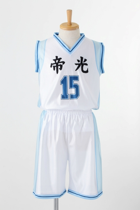 黒子のバスケ 帝光中学校 ユニフォーム 黒子テツヤ コスプレ衣装-higashi2168