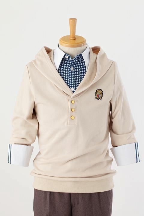 うたの☆プリンスさまっ♪ 来栖翔の衣装 /パーカー・シャツ-higashi2169