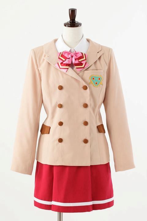 革命機ヴァルヴレイヴ 咲森学園制服 /女子 コスプレ衣装-higashi2179