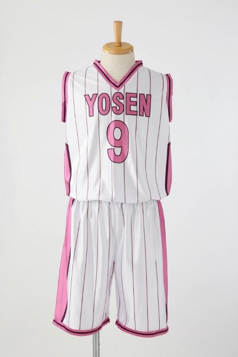 黒子のバスケ 陽泉高校ユニフォーム /紫原敦 コスプレ衣装-higashi2182
