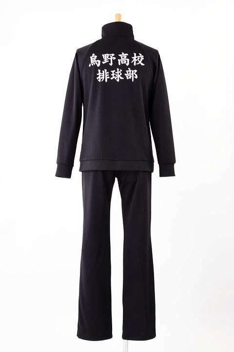 ハイキュー!! 烏野高校バレーボール部ジャージ コスプレ衣装-higashi2203 1