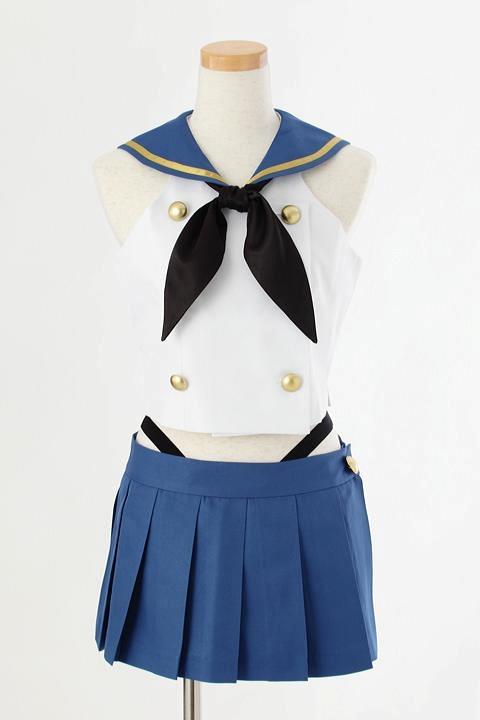 艦隊これくしょん~艦これ~ 島風の衣装 コスプレ衣装-higashi2224