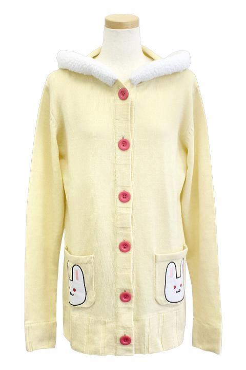 すーぱーそに子 そに子のうさ耳パーカー コスプレ衣装-higashi2226