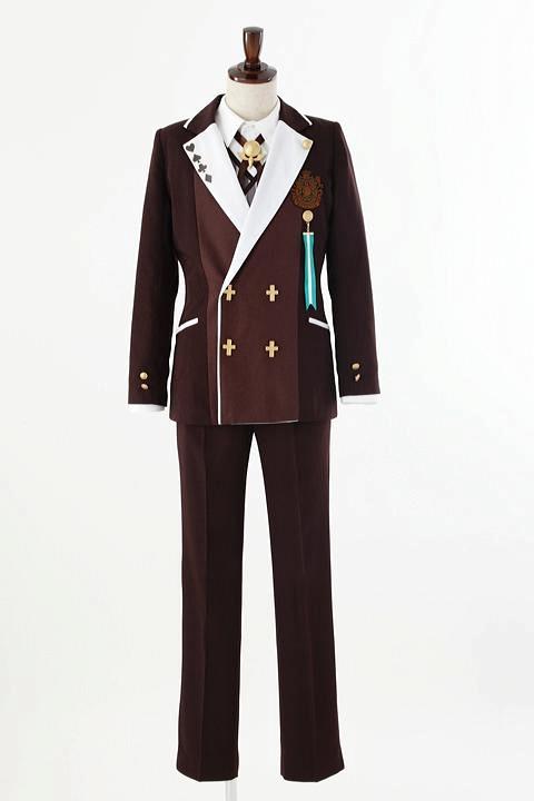 AMNESIA World 茗荷高校制服/男子 コスプレ衣装-higashi2230