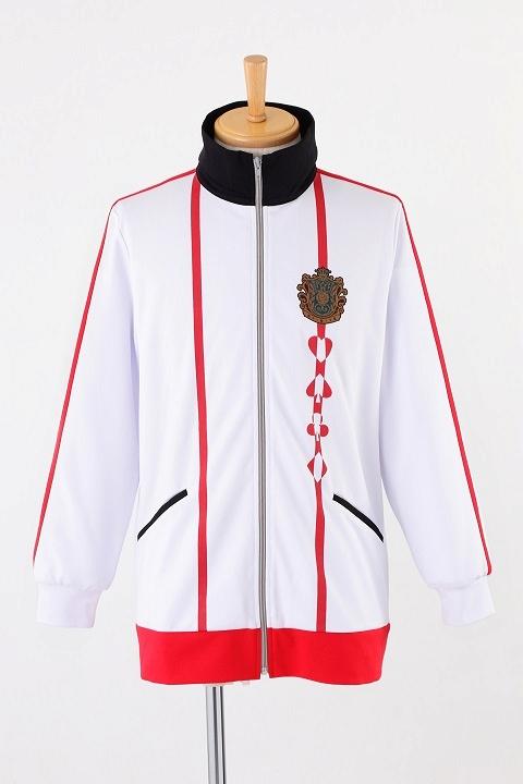 AMNESIA World 茗荷高校指定ジャージ/赤 コスプレ衣装-higashi2235