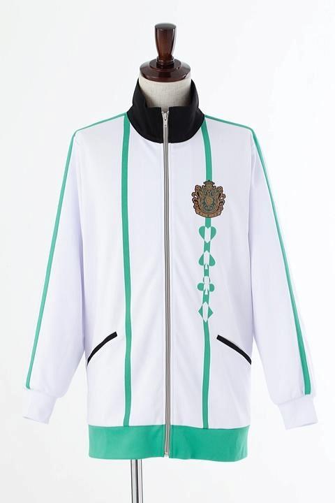 AMNESIA World 茗荷高校指定ジャージ/深緑 コスプレ衣装-higashi2236