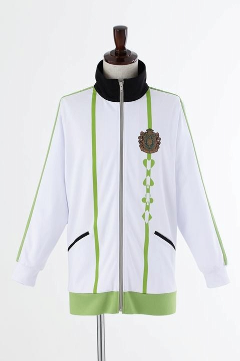 AMNESIA World 茗荷高校指定ジャージ/黄緑 コスプレ衣装-higashi2237