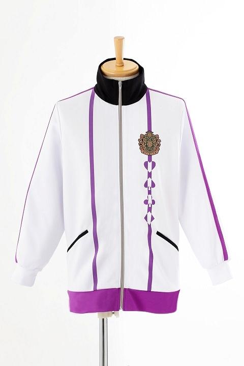 AMNESIA World 茗荷高校指定ジャージ/紫 コスプレ衣装-higashi2238