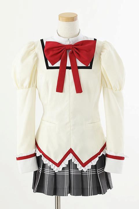 魔法少女まどか☆マギカ 市立見滝原中学校制服/女子 コスプレ衣装-higashi2282