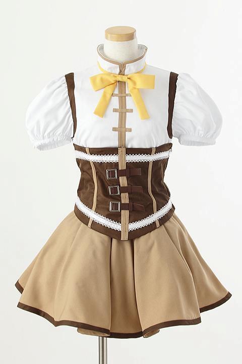 魔法少女まどか☆マギカ 巴マミの衣装 コスプレ衣装-higashi2283