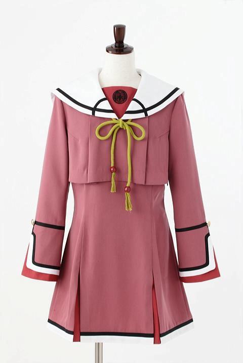 緋色の欠片 紅陵学院高校制服/女子 コスプレ衣装-higashi2285