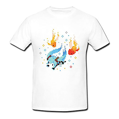初音ミク 夏祭りホワイトコスプレTシャツ-hgschuyin0048