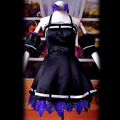 初音ミク 秘密警察 黒 ドレス-hgschuyin0067