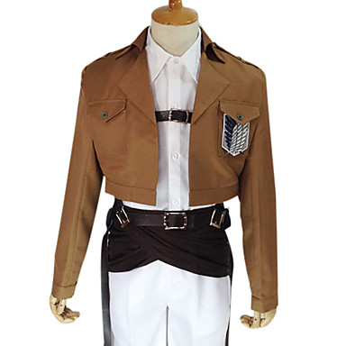 進撃の巨人 反撃の翼 リヴァイ 兵長 特別夜戦機動兵 コスプレ衣装-hgssingeki0023
