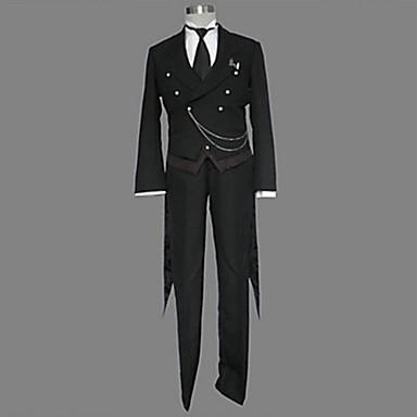 黒執事 黒執事II セバスチャン 燕尾服 コスプレ衣装-hgskuro0007