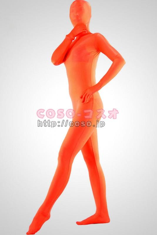 全身タイツ 透明人間 赤い全身タイツ ライクラ素材 透明人間―3taitsu0111 1