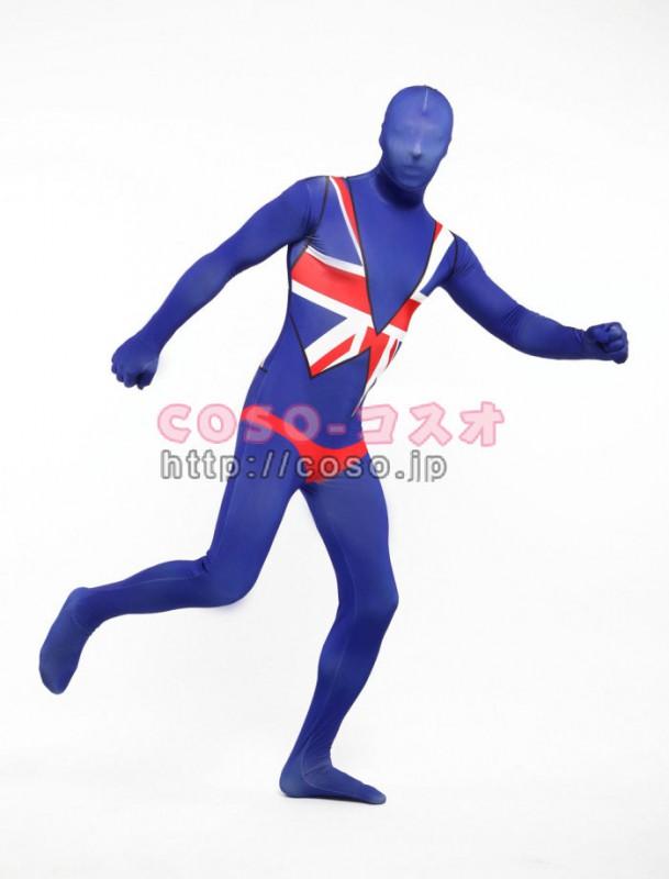 アメリカ国旗 米国代表 ライクラスパンデックス 全身タイツ ―3taitsu0192
