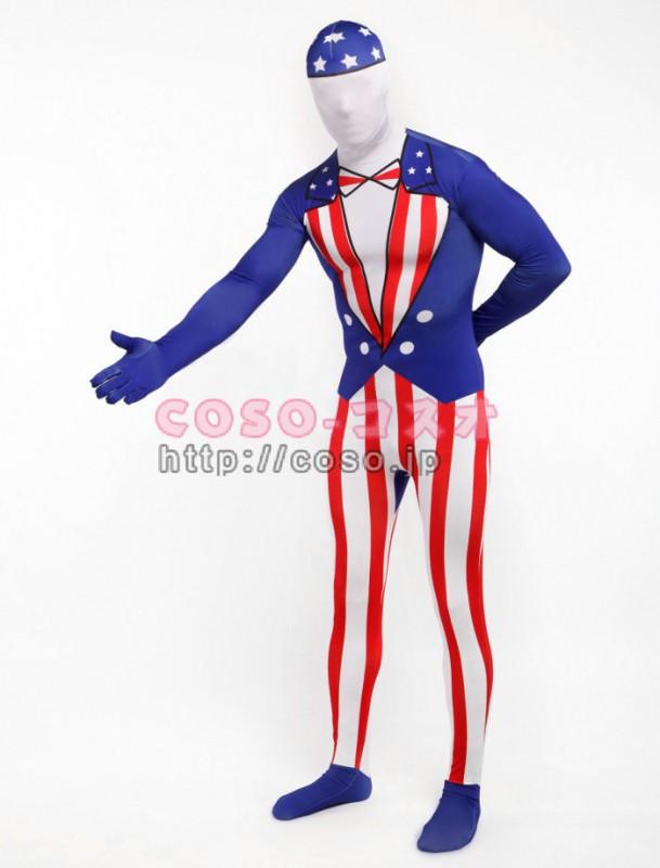 アメリカ オモシロ紳士 ライクラスパンデックス ―3taitsu0201