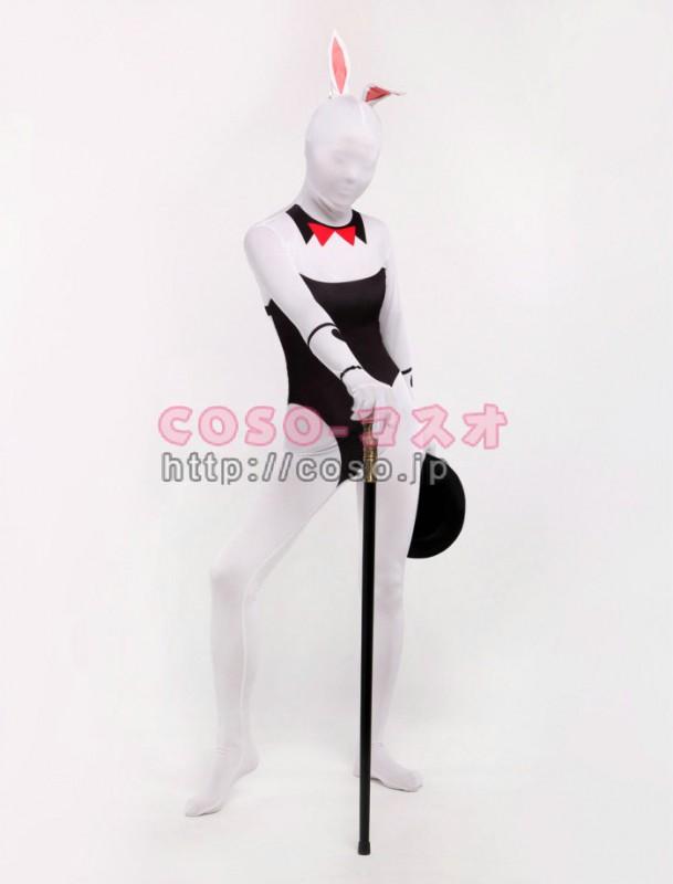 rabbitガール オモシロ セクシー兎コス ライクラスパンデックス ―7taitsu0038