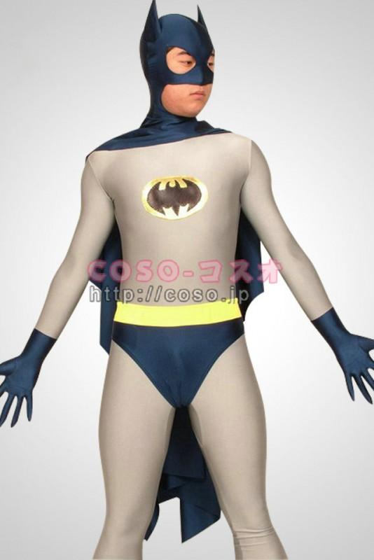 スーパーマン ライクラ&スパンデックス バットマン スーパーヒーロー 全身タイツ―8taitsu0004