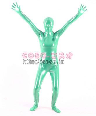グリーン 衣装 コスプレ用 全身タイツ―6taitsu0111