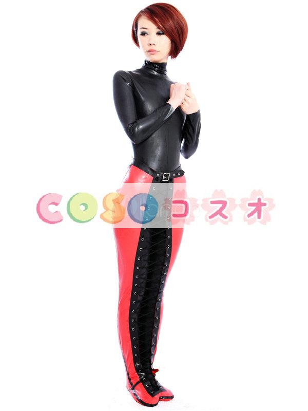 コスチューム衣装, レギンス 女性用 ラテックス 仮装 コスプレ―taitsu-tights0098