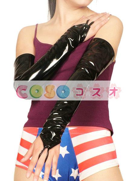 全身タイツアクセサリー,手袋 ブラック コスチューム 仮装パーティー―taitsu-tights0830
