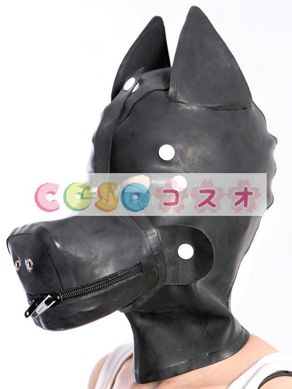 全身タイツアクセサリー,マスク ブラック コスチューム 仮装パーティー 狼―taitsu-tights0470