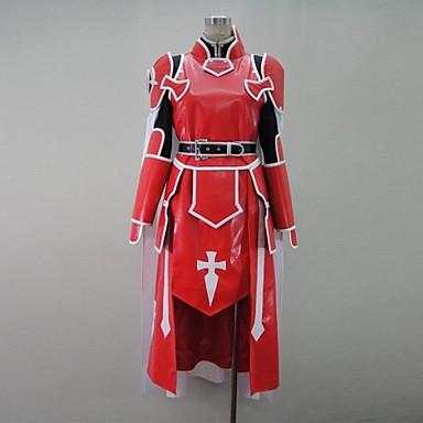 ソードアート・オンライン アスナ 血盟騎士団 コスプレ衣装-hgssotoa0061 1